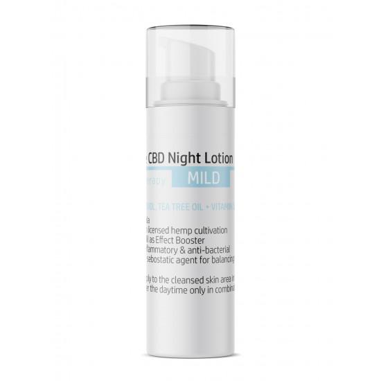 CBD anti akne nacht-lotion