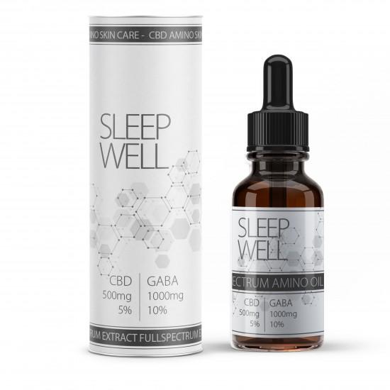 CBD Schlaf gut - mit der Aminosaure GABA