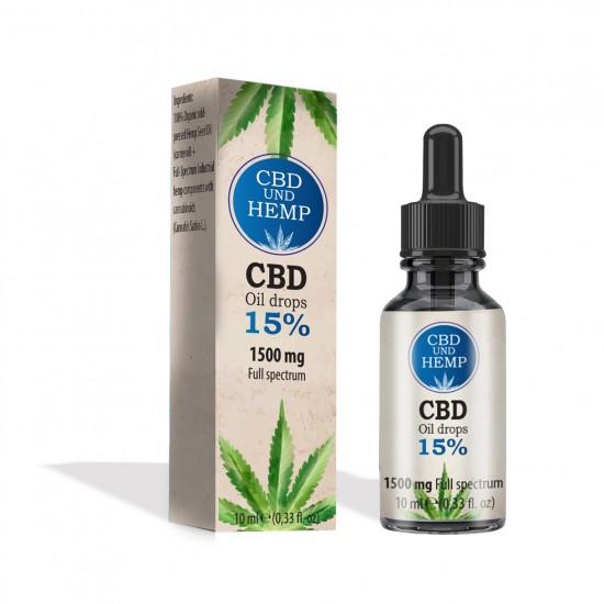 CBD Öl  15% (1500 mg)