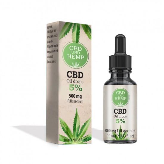 CBD Öl 5% (500 mg)