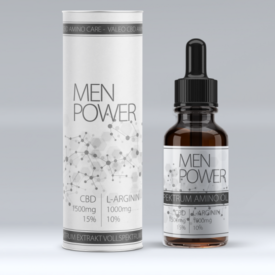 ManPower mit CBD und L-Arginine